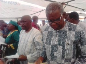 PHOTO NEWS: WAKE KEEP OF LATE COLONEL HENRY AFOLABI DAVID (RTD) IN LAGOS, WEDNESDAY EVENING