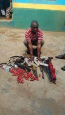 Ogun Police arrests notorious land grabber with arms, ammunition