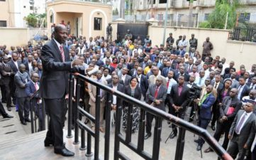 We won't let Nigerians down – Magu vows at EFCC anniversary