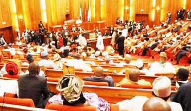 A scandal ridden Senate Presidency