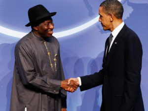 Bombardment of Jonathan as US, Jega, Girei reply ex-Nigeria's President over why Buhari defeated him in 2015