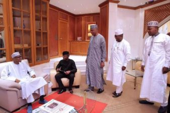 Photo News: President Muhammadu Buhari, before leaving for London.
