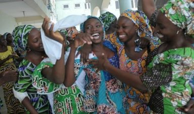 82 rescued Chibokgirls reunite with parents
