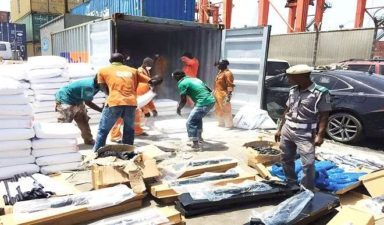 AGAIN! Customs intercepts, impounds another 440 rifles