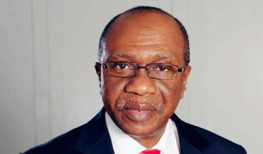 Emefiele says 'I briefed President Buhari on CBN's activities'