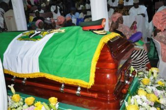 South West governors, top military officers, others pay respect to late Gen Adebayo in Ibadan