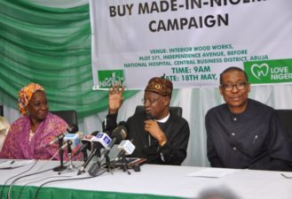 FG set to institutionalize Made-in-Nigeria goods patronage