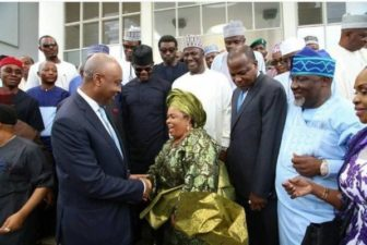 Nigerians deride Melaye over corruption book, presence of Patience Jonathan at launch