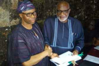 Ondo salary arrears, Projects will suffer except IGR increases – Akeredolu