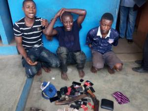 Ogun Police nabs 3 notorious robbers terrorising Lagos-Ibadan road axis