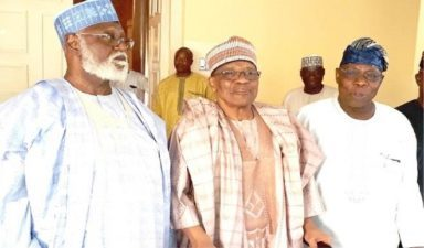 Anxiety grips PDP presidential aspirants over endorsement by IBB, OBJ, Danjuma, Abdulsalami