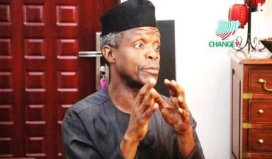 Corruption boldly fighting back through well-funded entities – Osinbajo