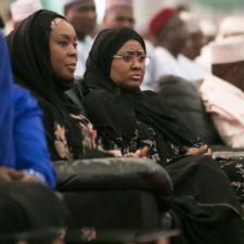 Aisha Buhari, Imam Suleiman, Imam Ahmad, others pray for Buhari at Aso Rock Ramadan Lecture