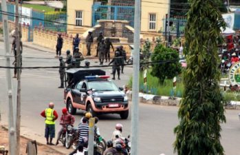 Ekiti 2018: Security builds-up as APC foils plan by police, Fayose to stop aspirant's declaration