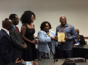 PHOTO NEWS: Nigeria's Rotarian, Lawmaker honoured in United States