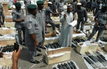 FG charges 6 men over illegal importation of 661 firearms