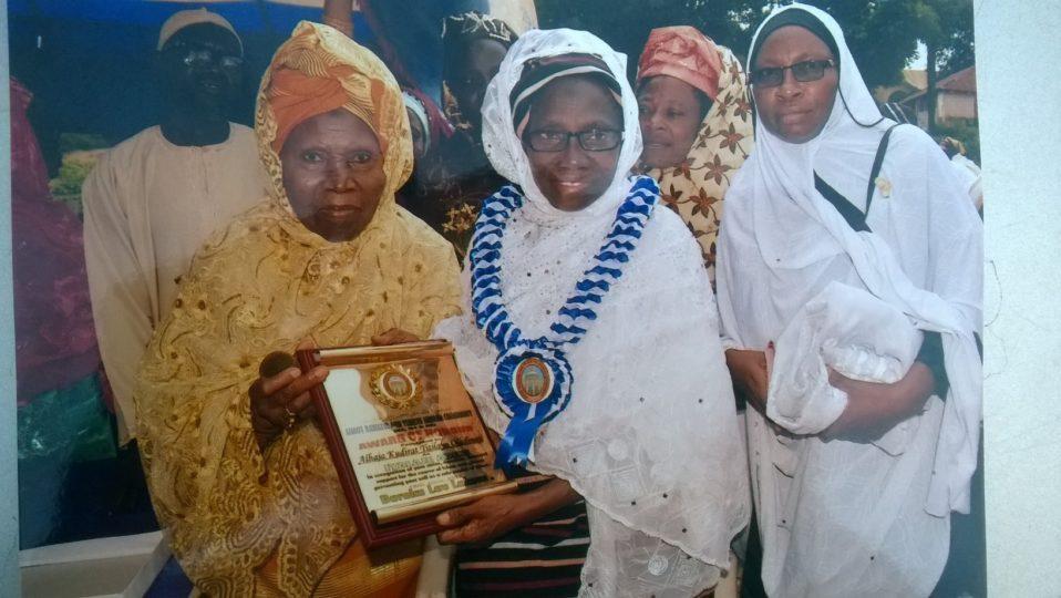 Image result for Sekinat Adekola, Iya-Adinni of Yoruba land,