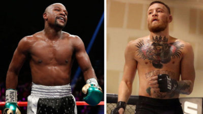 Mayweather now to fight McGregor August 26