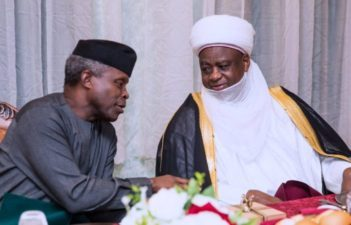 Acting President Osinbajo to meet 36 state governors Wednesday