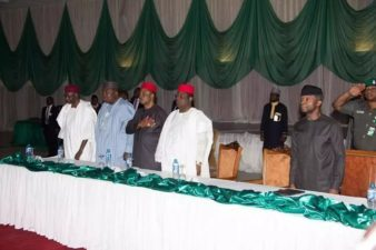 Speak out against divisive comments, Osinbajo charges Igbo leaders