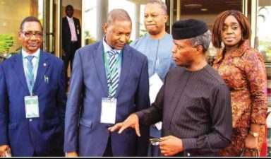 Osinbajo warns care must be taken against corruption fight-back overwhelming the government