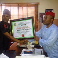 Cheers as Nigerian Students honour NBA's Ubani