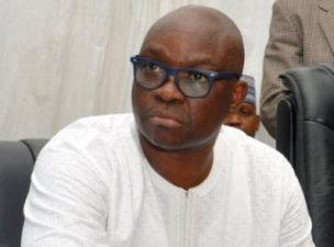 A governor owing salaries wants to succeed Buhari – APC mocks Fayose