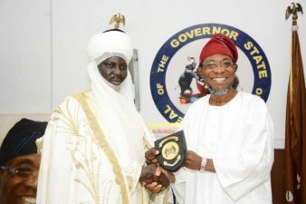 Aregbesola, Emir of Borgu reiterate need for Nigeria's unity, sue for peaceful co-existence among Nigerians