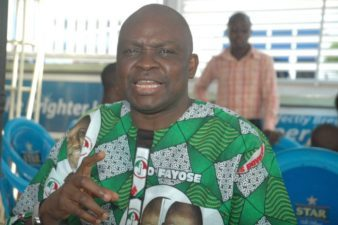 Fayose to dance naked soon as strong force in Ekiti Assembly joins APC, says more PDP lawmakers to follow soon