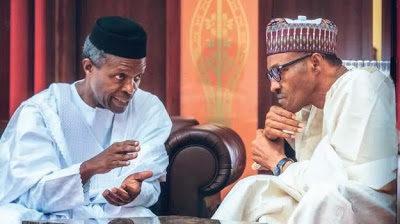 Aisha's Cheering News: Osinbajo travels to London for a meeting with President Buhari