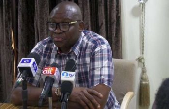 Fayose's Ekiti benefits as Buhari's government orders release of N1.6bn to 15 states affected by floods