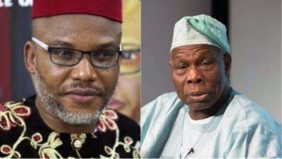 Nnamdi Kanu threatens to kill Obasanjo, household