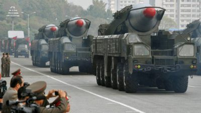 US puts military option on table for North Korea as Russia, China urge restraint