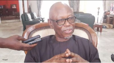Restructuring not part of our campaign promises, says Oyegun, APC chairman