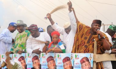 Osun West By-Election: Mudashir Hussein intensifies campaign as train moves to core areas