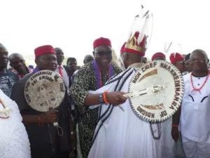 Fight of Biafra and their Governor as MASSOB demands Fayose release detained Igbo traders in Ekiti
