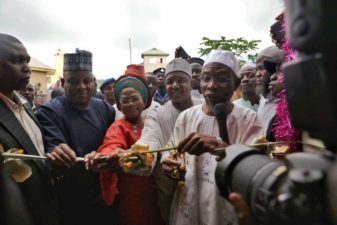 Aregbesola's performance in Osun is a good example for all of us – Borno, Kebbi Governors