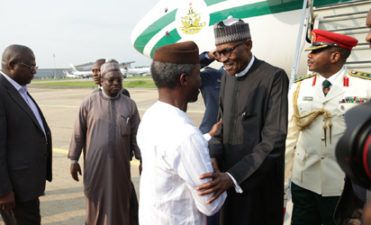 President Buhari returns from 10-day vacation, to meet security chiefs Monday