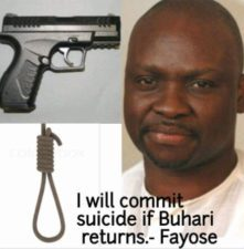 Buhari's Arrival: Will Fayose commit suicide as pledged? MURIC asks