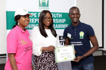 Bolanle Ambode's Foundation empowers youths with skills