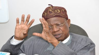 We have started our restructuring – Lai Mohammed