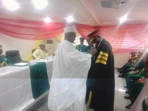 Course 14/2017: Buratai commends NACOL, reassures of military commitment to civil rule