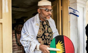 Eminent Nigerians descend on Nnamdi Kanu, ask FG to arrest him now to prove its seriousness