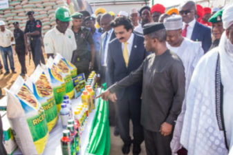 Osinbajo commissions Africa's largest parboiled Rice Mill in Kebbi