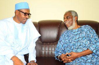 President Buhari congratulates Pa Ayo Fasanmi at 92