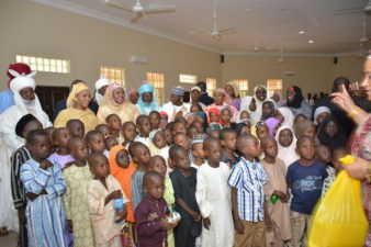 Aisha Buhari distributes scholarships to orphans, less privileged in Daura