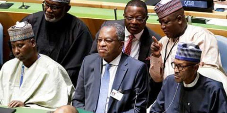 Nigeria waves good bye to flamboyance at UNGA