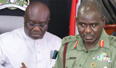 Operation Python Dance II continues in Abia, other South East states, Army faults Ikpeazu, as 30 IPOB members remanded in Rivers