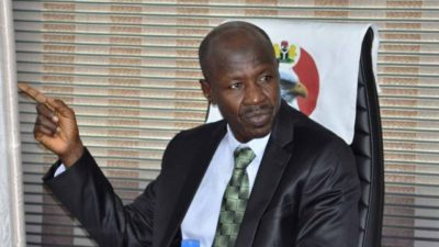 Diezani's 'loot' more notorious than Abacha's, Says EFCC boss