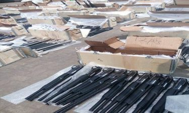 Customs intercepts another 2,671 riffles imported from Turkey